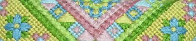 Detail of Sue Hawkins Scissor Poke Embroidery Kit