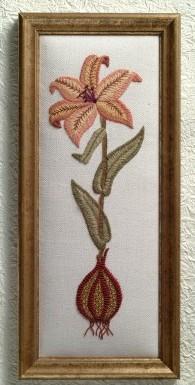 15. Beautiful Bulb Lily