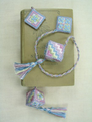 4. Forget Me Not Cube Bookmarker