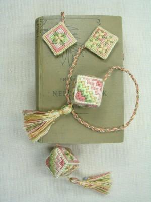 5. Primrose Cube Bookmarker