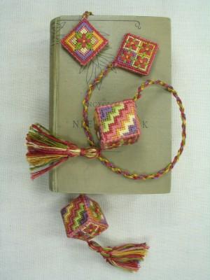 6. Scarlet Pimpernel Cube Bookmarker