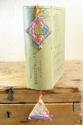 9. Jazzy Beaded Bookmarker