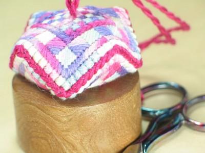 Pink Dressmaker Scissor Keeper