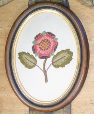 Crewel Rose