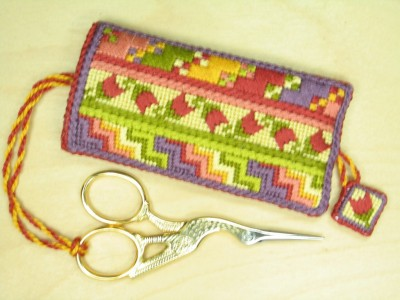 Scissor and Thread Cutter Pockets