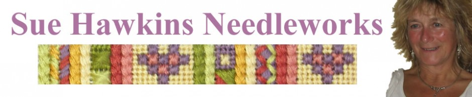 Embroidery kits from Sue Hawkins Needleworks